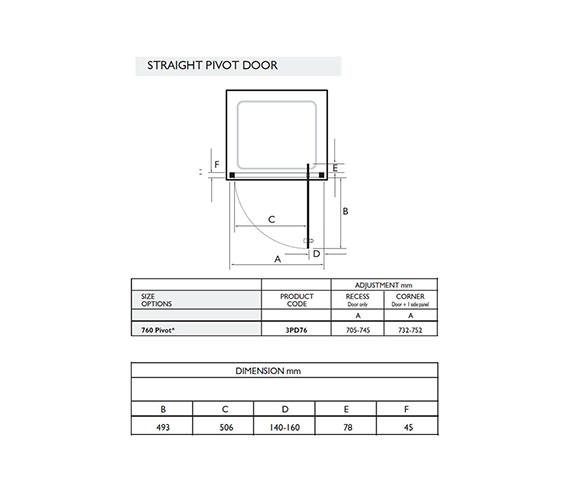 Technical drawing QS-V32040 / 3PD76W