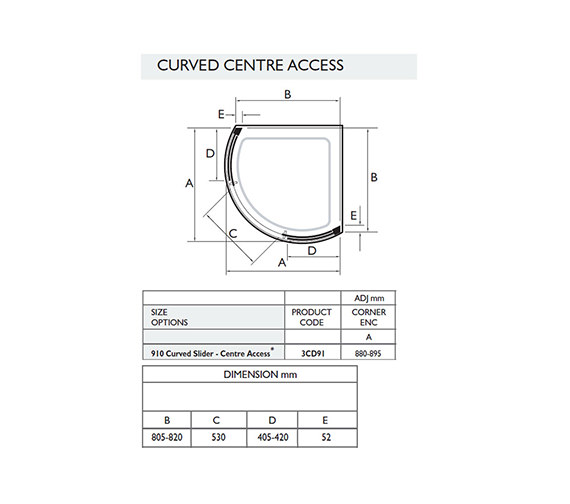 Technical drawing QS-V32054 / 3CD91W