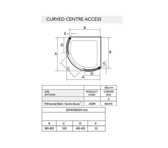 Technical drawing QS-V32054 / 3CD91W