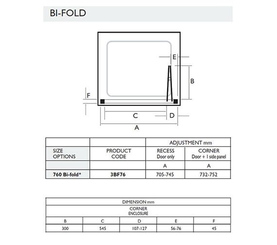 Technical drawing QS-V32060 / 3BF76W