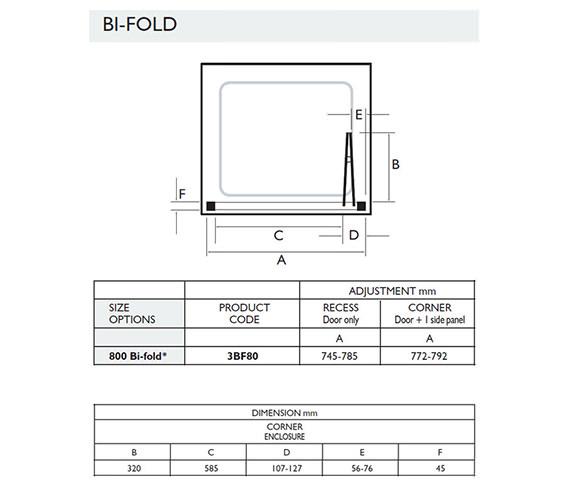 Technical drawing QS-V32061 / 3BF80W