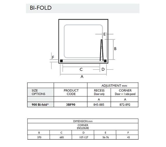 Technical drawing QS-V32062 / 3BF90W