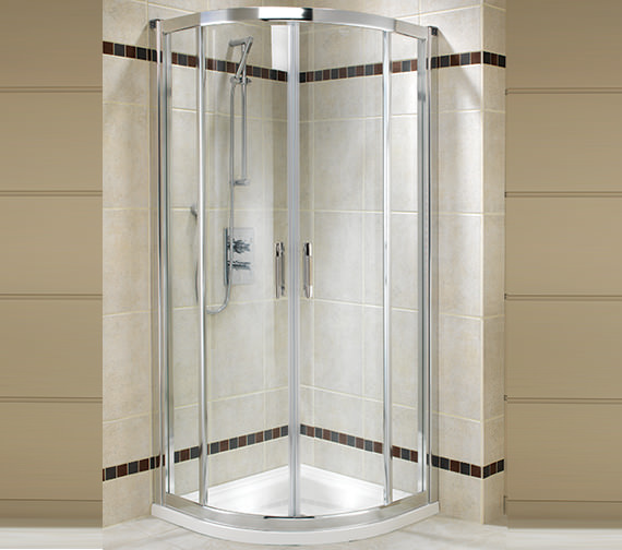Twyford Geo6 Quadrant Shower Enclosure 800 x 800mm