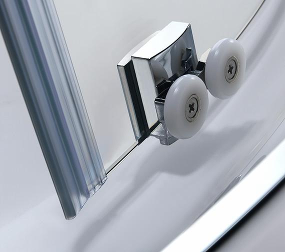 Alternate image of Twyford Geo 6 Offset Quadrant Shower Enclosure 1200 x 900mm