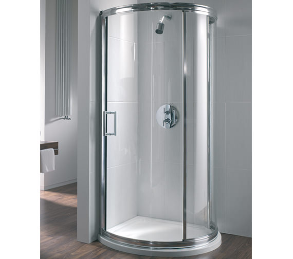 Twyford Hydr8 Bow Quadrant Shower Enclosure 880mm - H84930CP