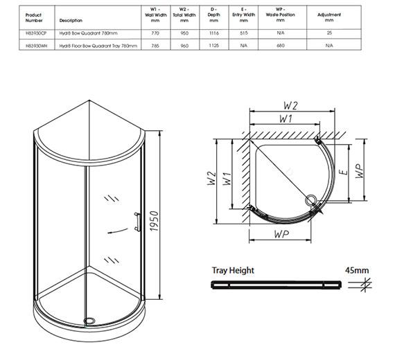 Technical drawing QS-V32075 / H83930CP