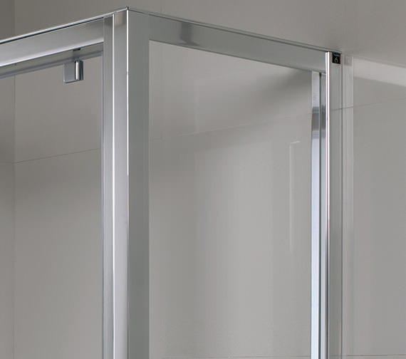 Twyford Geo6 Shower Enclosure Side Panel 800mm - G64400CP