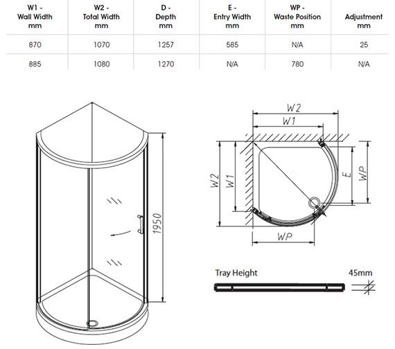 Technical drawing QS-V32082 / H84930CP