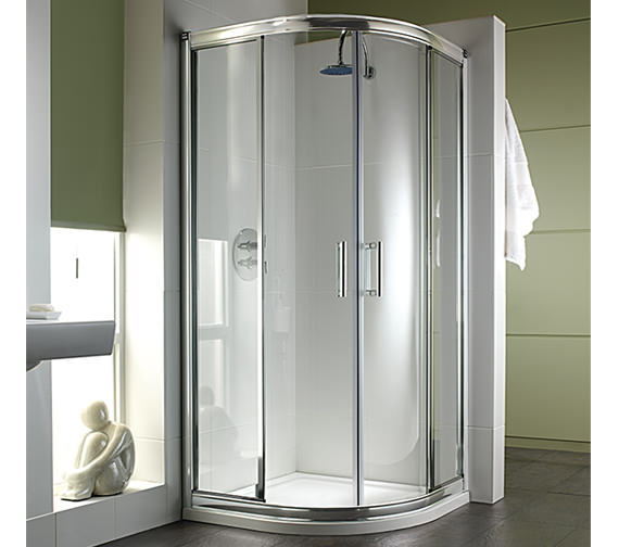 Twyford Hydr8 Quadrant Shower Enclosure 900mm - H85700CP