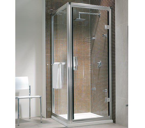 Twyford Hydr8 Hinged Shower Enclosure Door 900mm - H85600CP