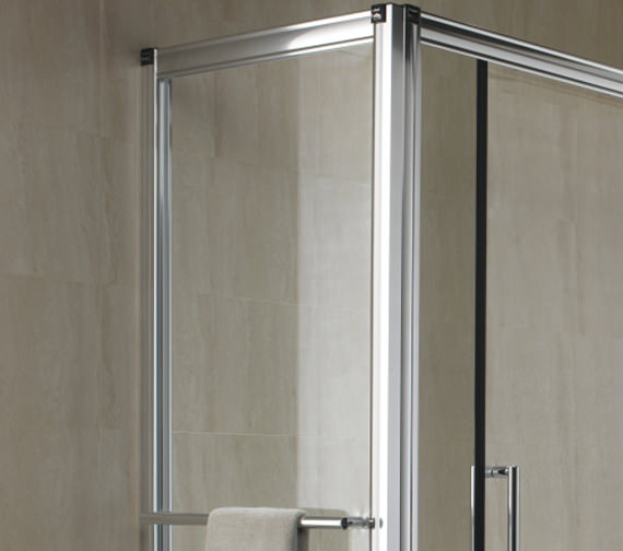 Twyford Hydr8 Shower Enclosure Side Panel 700mm - H82400CP