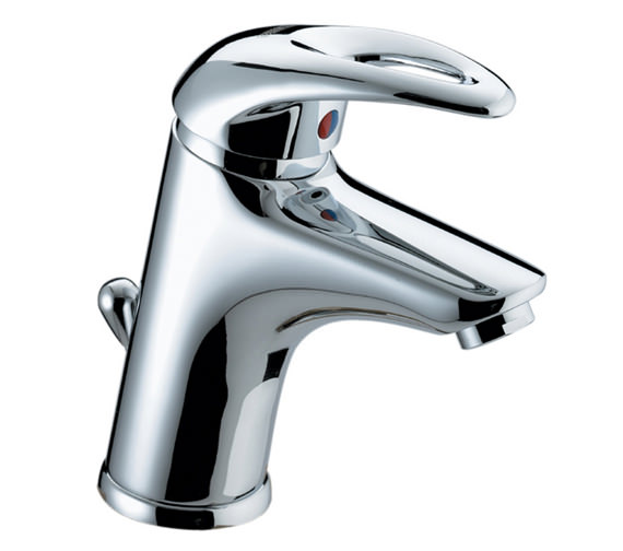Bristan Java Basin Mixer Tap With Pop-up Waste - J BAS C
