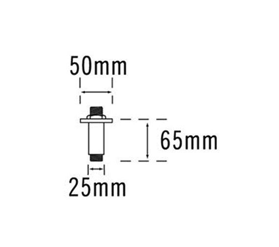 Technical drawing QS-V33305 / 50730