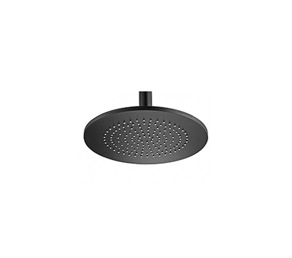 Tre Mercati Aluminium Round Black Shower Head 240mm - 55910