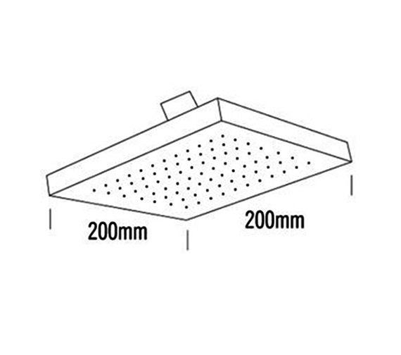 Technical drawing QS-V33321 / 51640