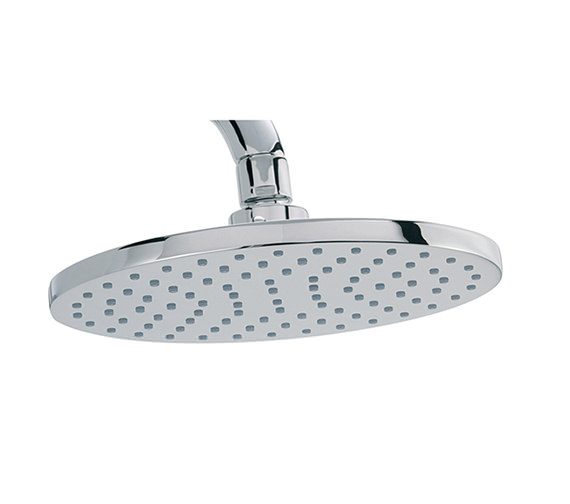 Tre Mercati Oval Flat Brass Shower Head 200mm - 50930