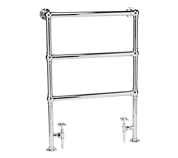 Hudson Reed Countess Traditional Towel Rail 676 x 966mm - HT301