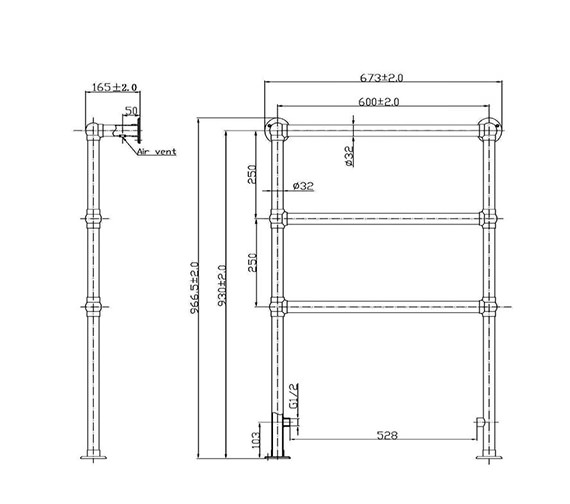 Technical drawing QS-V33368 / HT301