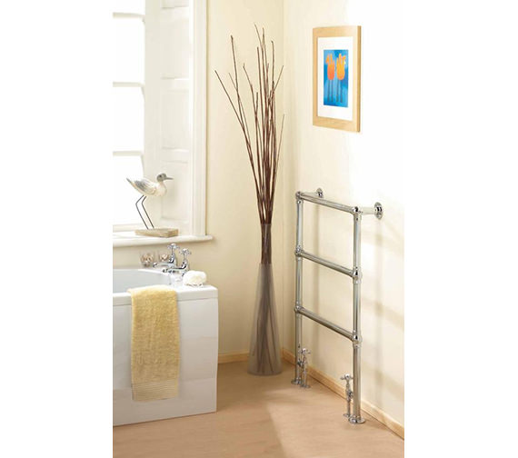 Hudson Reed Countess 676 x 966mm Traditional Heated Towel Rail