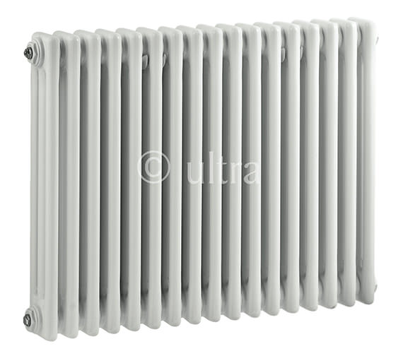 Ultra Colosseum Triple Column 786 x 600mm White Radiator - HX305