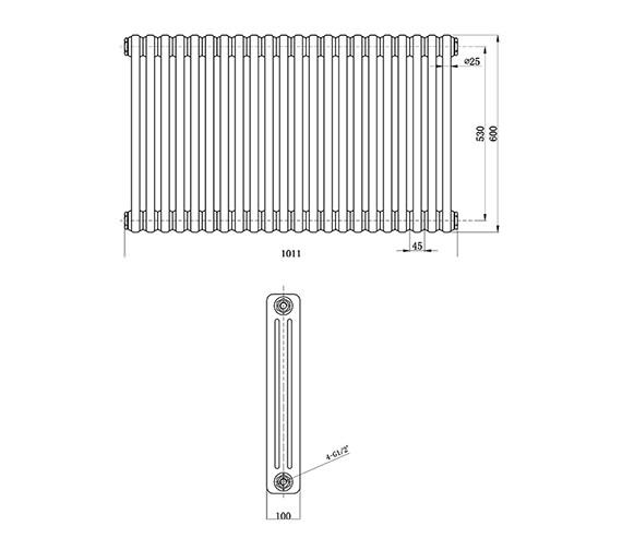 Technical drawing QS-V33395 / HX306