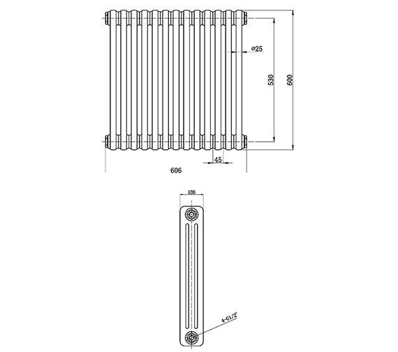 Technical drawing QS-V33396 / HX304