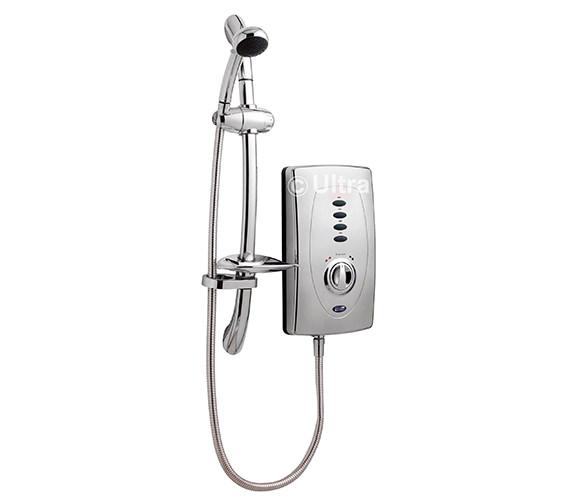 Ultra Chic 650 Slimline 10.5kW Chrome Electric Shower - AX311