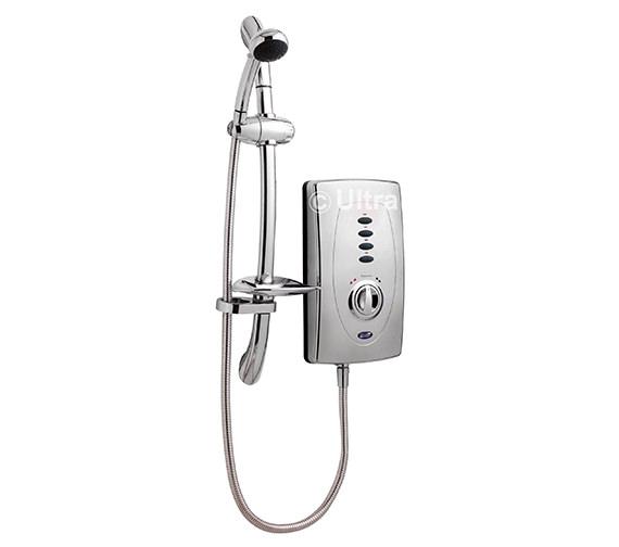 Ultra Chic 650 Slimline 9.5kW Chrome Electric Shower - AX310