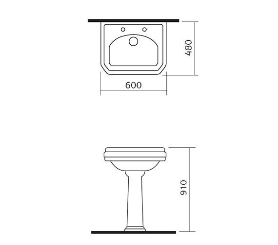 Technical drawing QS-V34142 / NCS882