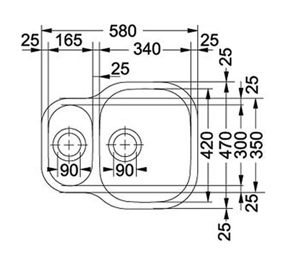 Technical drawing QS-V34187 / 1220052092