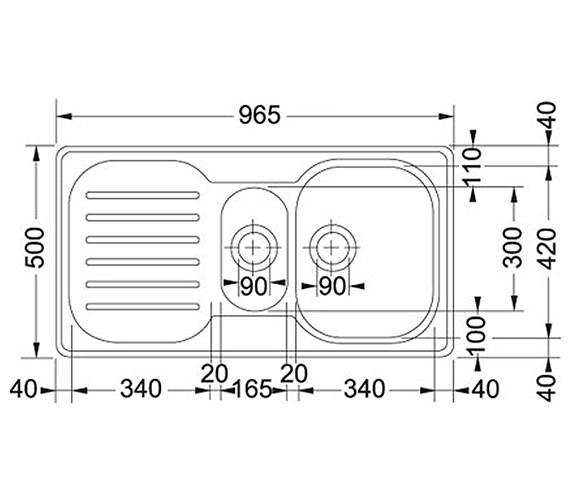 Technical drawing QS-V34190 / 1010049180 BOM