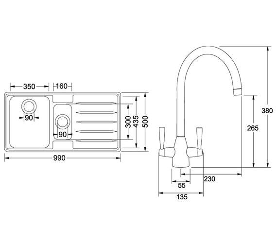 Technical drawing QS-V34202 / 1010066688