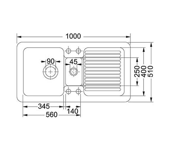 Technical drawing QS-V34245 / 1240049872 BOM