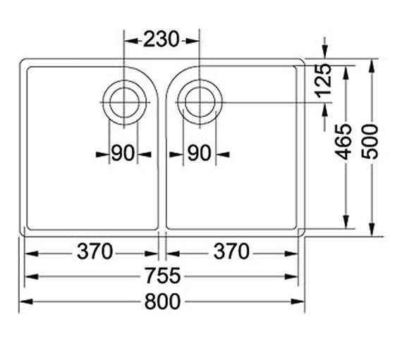 Technical drawing QS-V34248 / 1300049876