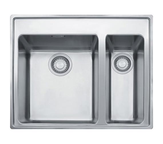 Franke Midas MTX 660 34-16 Stainless Steel 1.5 Bowl Inset Kitchen Sink ...