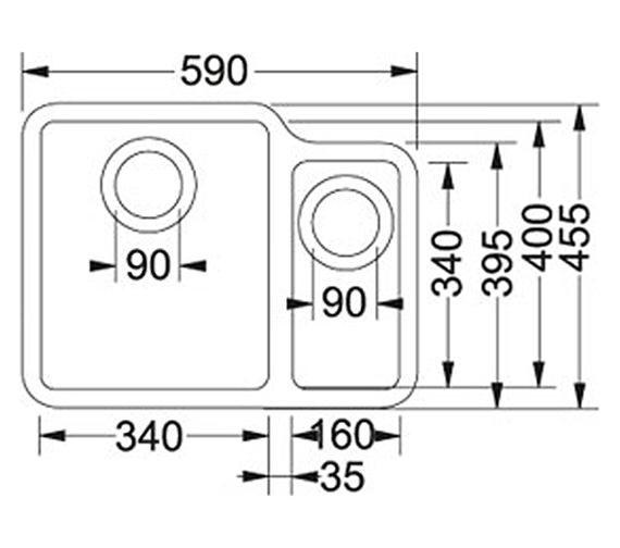 Technical drawing QS-V34259 / 1220033122
