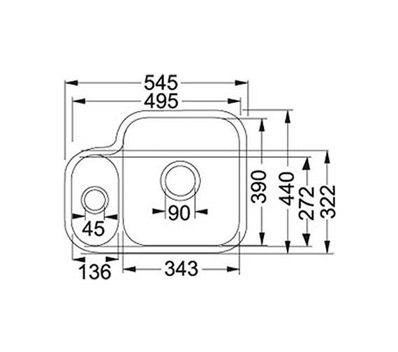Technical drawing QS-V34268 / 1260050115 BOM