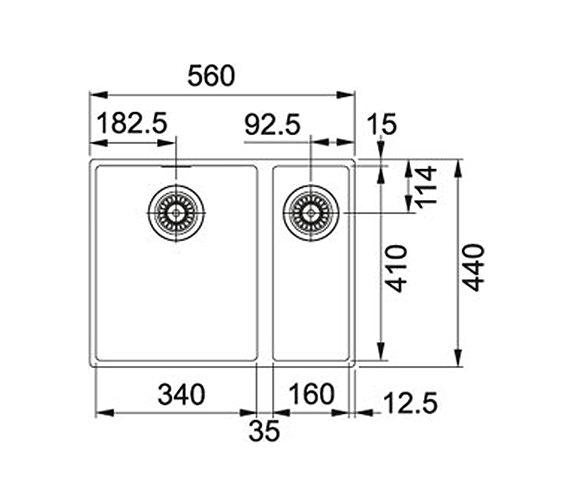 Technical drawing QS-V34273 / 1250252219