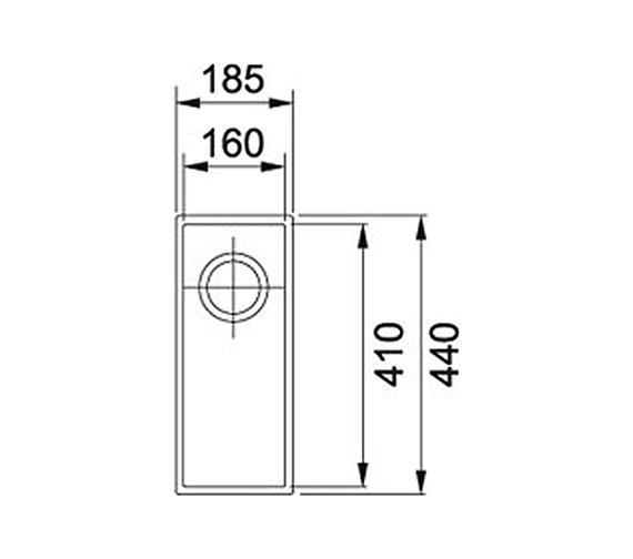 Technical drawing QS-V34281 / 1250252231