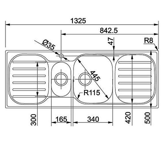Technical drawing QS-V34286 / 1010182240 BOM
