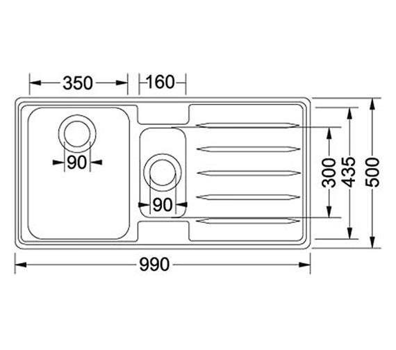 Technical drawing QS-V34296 / 1010066688