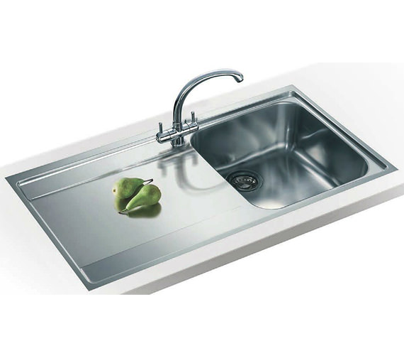 Best Stainless Steel Sinks Rated : ... Maris Slim-Top Propack MRX 211 Stainless Steel Sink And Tap Image