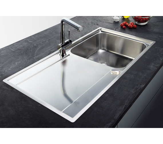 Top Stainless Steel Sinks : ... of Franke Maris Slim-Top Propack MRX 211 Stainless Steel Sink And Tap