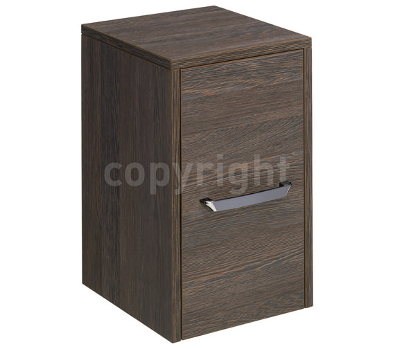 Bauhaus Essence 300mm Single Door Storage Unit Ebony - ES3035FEB