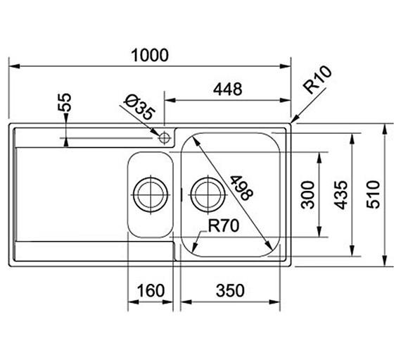 Technical drawing QS-V34315 / 1270251080 BOM