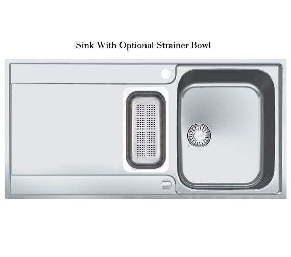 Alternate image of Franke Maris Slim-Top Propack MRX 251 Stainless Steel Kitchen Sink And Tap