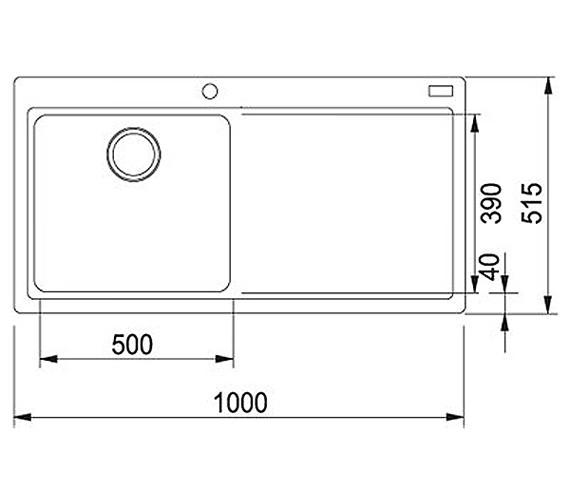 Technical drawing QS-V34318 / 1140153448