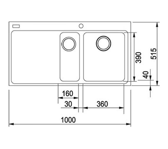 Technical drawing QS-V34319 / 1140153479