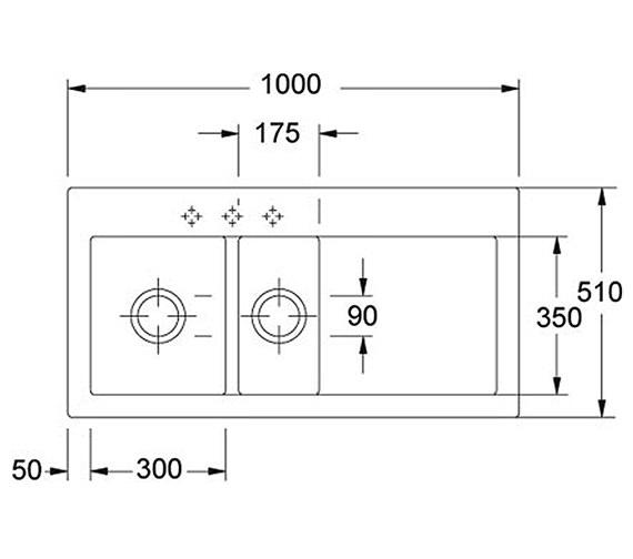 Technical drawing QS-V34329 / 1240050121 BOM