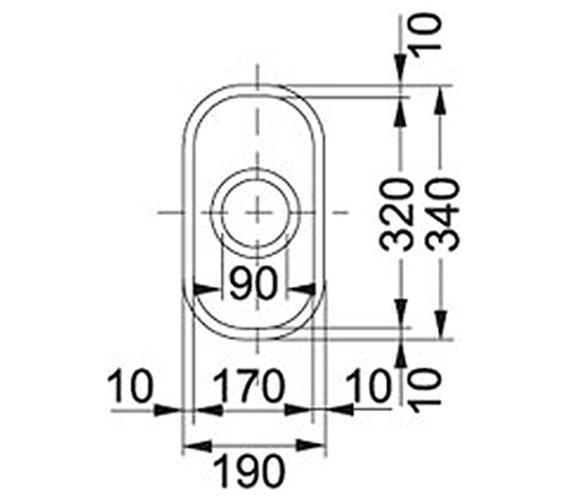 Technical drawing QS-V34332 / 1120154911
